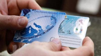 Valide fino al 31 dicembre 2020 le carte di identità scadute